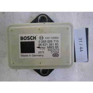 31-44 Sensore Antimbardata Bosch 0 265 005 715 0265005715 96 631 381 80 9663138180 MM3.8K CITROEN / PEUGEOT VARIE