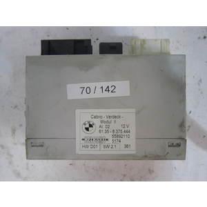 modulo controllo tetto elettrico helbako 61358375444 61.35 8 375 444 55892110 hw d01 hwd01 sw 2.1 sw21 bmw generica serie 3