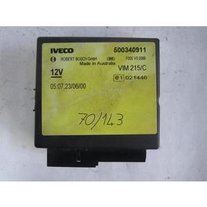 modulo chiusura centralizzata bosch 500340911 f005 v0 0096 f005v00096 vim 215/c vim215c iveco generica daily