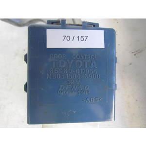 70-157 modulo chiusura centralizzata denso 85980-0d050 mb051500-3900 toyota yaris