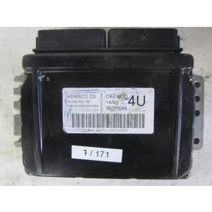 7-171 centralina motore daewoo 96291049 s010013001 kemsco d 1ans 4u daewoo matix