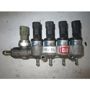 90-154 Componenti Meccanici Rampa Iniettori GPL BRC 67R-010185 110R-000005 CLASS 2 RAIL 8 GENERICA Benzina/GPL