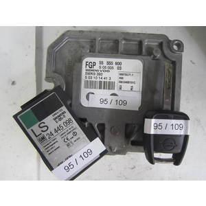 95-109 Kit Avviamento Vettura Kit Motore Siemens 55 555 600 S0500503 5WK4 763 24 445 098 OPEL Benzina MERIVA