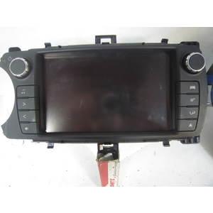 20-192 Schermo Radio / Display / Navigatore Fujitsu 86140-0D220 861400D220 138000-5020E101 1380005020E101 FT0053B TOYOTA Generica YARIS