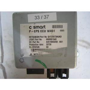 33-37 Centralina Servosterzo / Angolo Sterzata Mitsubishi P-EPS ECU W451 PEPSECUW451 6900001940 Q1T25473HUKD A4519003200 SMART Generica FORTWO 451 1.0