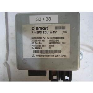 33-38 Centralina Servosterzo / Angolo Sterzata Mitsubishi P-EPS ECU W451 PEPSECUW451 6900001940 Q1T25473HUKD A4519003200 SMART Generica FORTWO 451 1.0