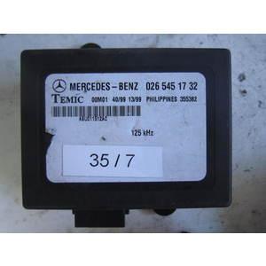 35-7 Centralina Immobilizer Temic 026 545 17 32 0265451732 MERCEDES BENZ Generica VITO SPRINTER