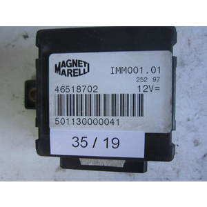 35-19 Centralina Immobilizer Magneti Marelli 46518702 IMM001.01 IMM00101 ALFA ROMEO / FIAT / LANCIA Generica MAREA