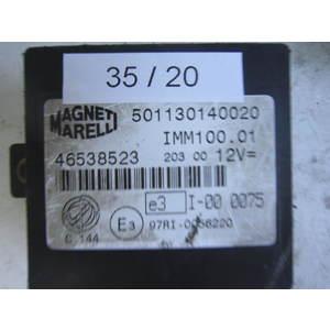 35-20 Centralina Immobilizer Magneti Marelli 46538523 IMM100.01 IMM10001 ALFA ROMEO / FIAT / LANCIA Generica MULTIPLA