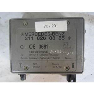 70-201 Modulo Antenna Mercedes Benz 211 820 08 85 2118200885 097 0121 2 09701212 Generica CLASSE C