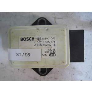 31-98 Sensore Antimbardata Bosch 0 265 005 774 0265005774 A 006 542 42 18 A0065424218 SMART Generica FORTWO 451