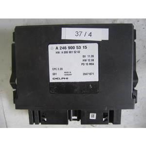 37-4 Centralina sensori parcheggio Delphi A 246 900 53 15 A2469005315 A 000 901 52 02 A0009015202 CPC 2.20 PD 15 M04 MERCEDES BENZ Generica CLASSE A