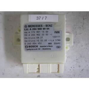 37-7 Centralina sensori parcheggio Bosch 0 263 004 452 0263004452 A 172 901 13 00 A1729011300 A 204 902 22 02 MERCEDES BENZ Generica CLASSE C