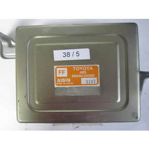 38-5 Centralina ABS ESP HBA Aisin aw co.LTD 89540-20280 8954020280 3I07 MF-2230 TOYOTA VARIE