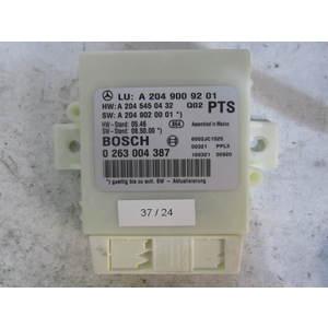 37-24 Centralina sensori parcheggio Bosch 0 263 004 387 0263004387 A 204 900 92 01 A2049009201 A 204 545 04 32 A 204 902 00 01 MERCEDES BENZ VARIE