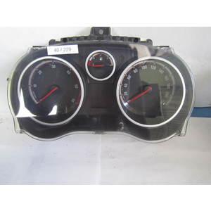 40-229 Quadro Strumenti / Contachilometri Johnson Controls P0013264285 1303304 OPEL Benzina CORSA