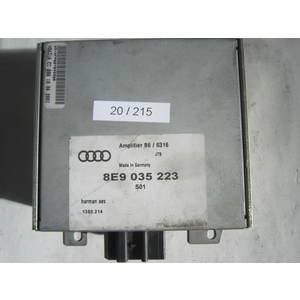 20-215 Amplificatore Audio Harman 8E9 035 223 8E9035223 B6 / 6316 B66316 S01 1380.214 AUDI Generica A 4
