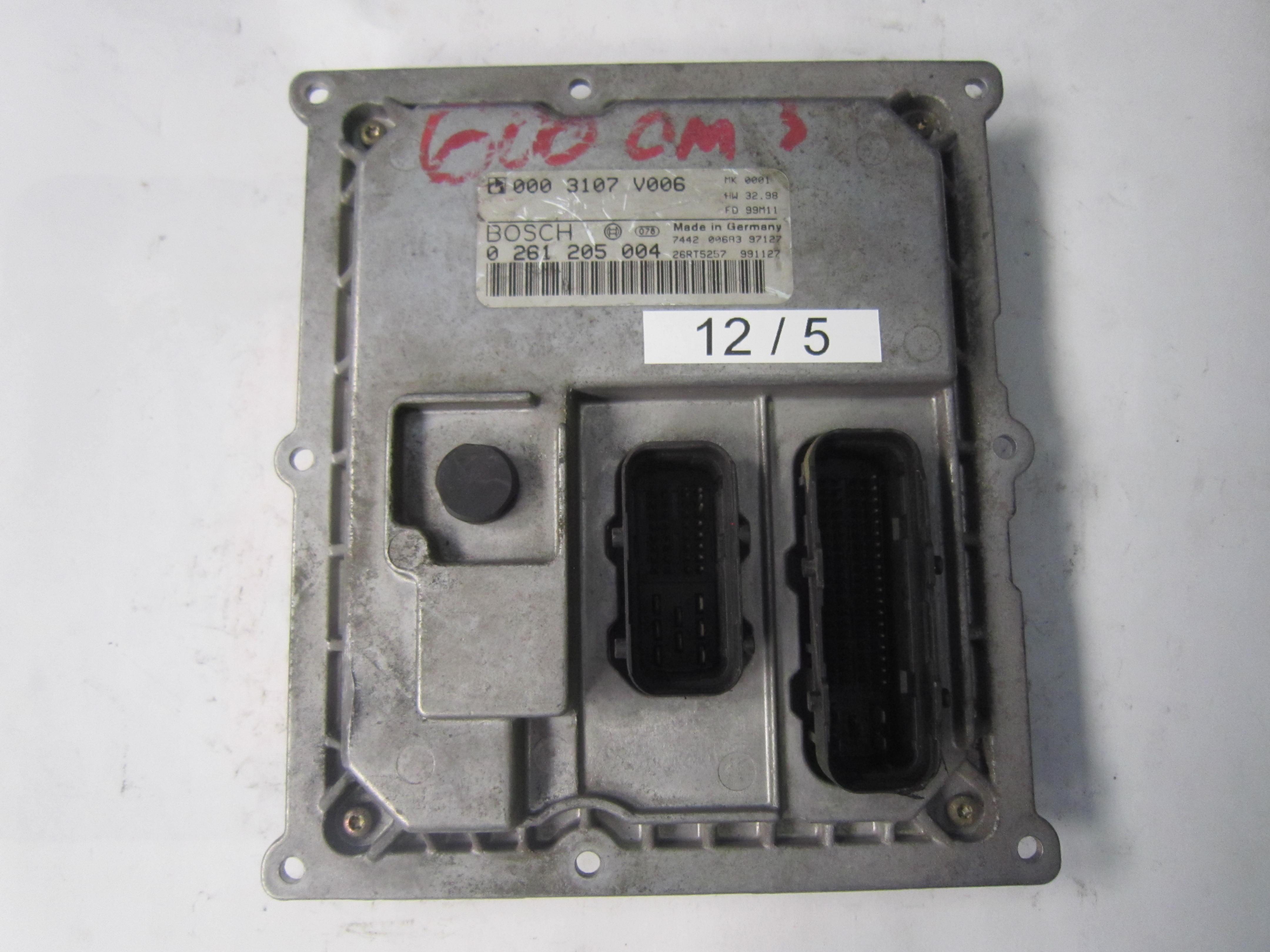 // 0003107V006 Centralina motore  SMART FORTWO 0.6-0261205004