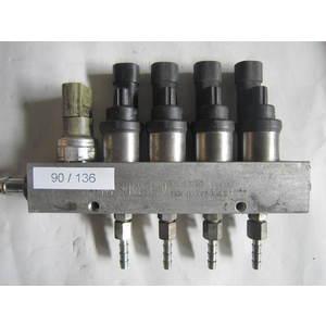 90-136 Rampa Iniettori GPL M.T.M. 6/R -010185 6R010185 CLASS2 110R-000005-RAILB GENERICA Benzina/GPL