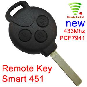 chiave smart 451 con telecomando
