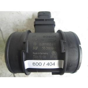 800-404 Debimetro Bosch 0281 002 618 0281002618 55 350 048 55350048 ALFA ROMEO / FIAT / LANCIA VARIE