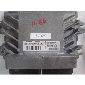 7-189 Centralina Motore Continental S110140025 A S110140025A 8200856659 8200598393 EMS3132 DACIA VARIE 1.4