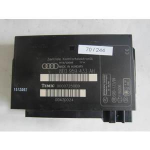 70-244 Centralina Modulo Confort Temic 8E0 959 433 AH 8E0959433AH 00007250B9 SRD-133/99 11N006 AUDI Generica A 4