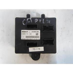 70-78 Centralina Modulo Confort Renault EMM-T4 EMMT4 231A07345R VARIE