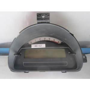 Quadro Strumenti / Contachilometri Johnson Controls 216787204 21678720-4 P9660225880 CITROEN / PEUGEOT C2/C3/C3 Pluriel 1.4 HDI