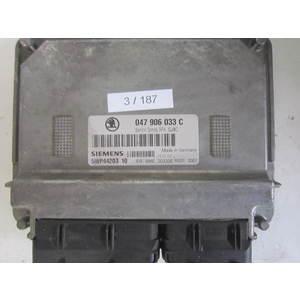 3-187 Centralina Motore Siemens 5WP44203 10 5WP4420310 047 906 033 C 047906033C SIMOS 3PA SJ4C SKODA Benzina FABIA 1.4