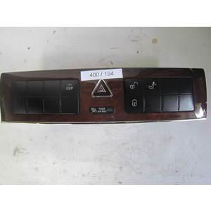 400-194 Pulsantiera Interruttori Centrale Mercedes Benz 203 870 47 10 2038704710 3363.0103 A2036808082 Generica CLASSE E
