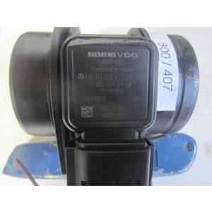 800-407 Debimetro Siemens 5WK9 7003 5WK97003 A 000 094 29 48 A0000942948 1525A001 LM032 MERCEDES BENZ Diesel CLASSE A