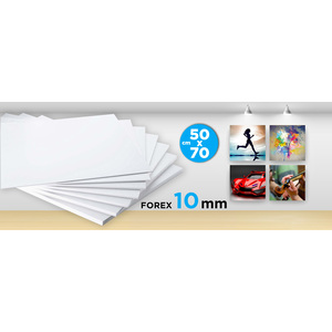 Forex (PVC) 10 MM 50X70