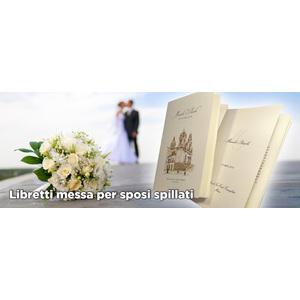 Libretti messa per sposi spillato