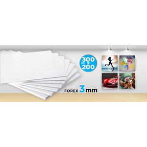 Forex (PVC) 3 MM 300x200