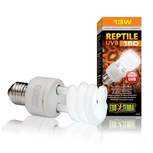 Reptile UVB150 Lampada per Terrario Desertico EXOTERRA