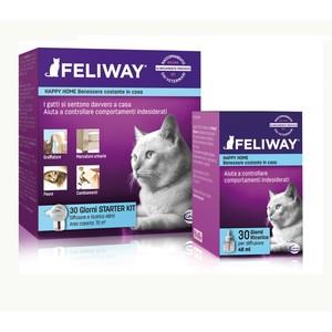 New Feliway Starter Kit - diffusore di feromoni per gatti