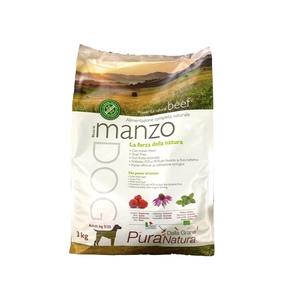 Dalla Grana Pura Natura crocchette cane Manzo kg 3