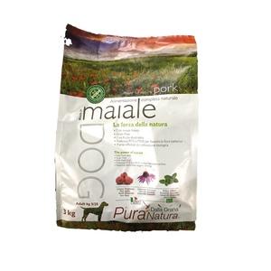 Dalla Grana Pura Natura crocchette cane Maiale kg 3 OFFERTA SPECIALE fino ad esaurimento scorte