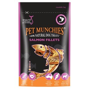 Pet Munchies snack 100% naturale al Salmone