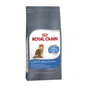 cibo a basso contenuto di grassi, alimento per gatti che limita l'aumento di peso, ight weight care Royal Canin