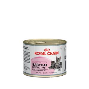 alimento per svezzamento gatti, cibo per aumentare difese naturali gatti, scatoletta per cuccioli di gatto, Babycat Instinctive Royal Canin