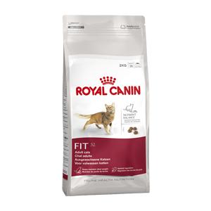Fit 32 Royal Canin, alimento per gatti adulti, crocchette gatti in piena forma,