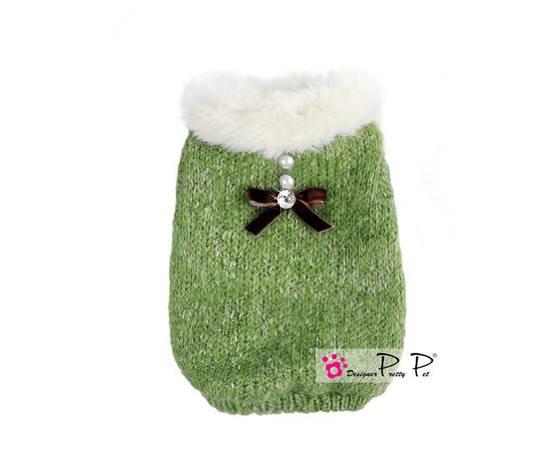 Cappotto maglione Pretty Pet verde