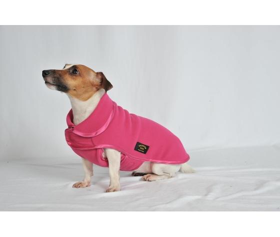 Cappotto Pile Fashion-Dog FUXIA