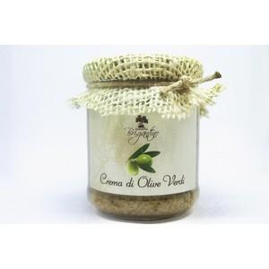 Crema di olive verdi