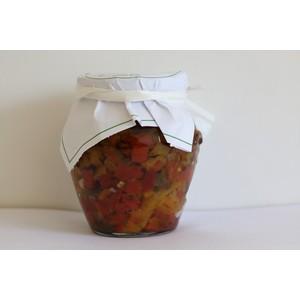 Condi bruschetta ai pomodori secchi