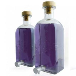 Bottiglia Vetro Cristallo 1 Lt
