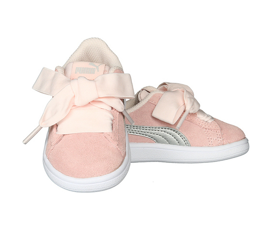 scarpe puma bimba con fiocco