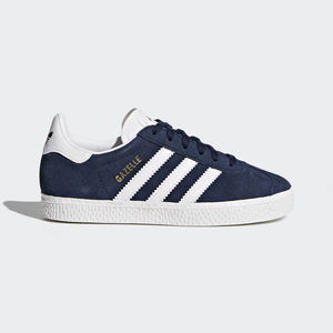 low priced 2b5a3 5eded Adidas Gazelle C Bambino Blu Art. BY9162